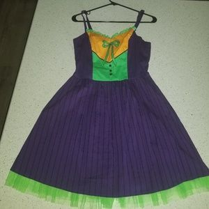 DC joker dress size M new with tags